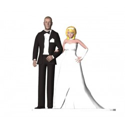 BRIDAL SHOWS - WEDDING CAKE TOPPER