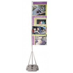 Rally Outdoor Banner Stand Display