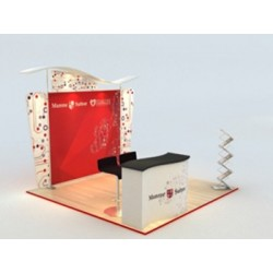 Birttani 10 x 10 Booth-E Package
