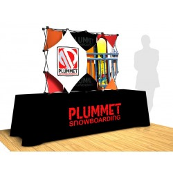 SalesMate Exhibitor Series Tabletop 4x3D